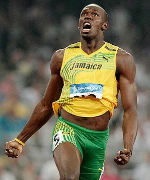 Usain Bolt Beaten