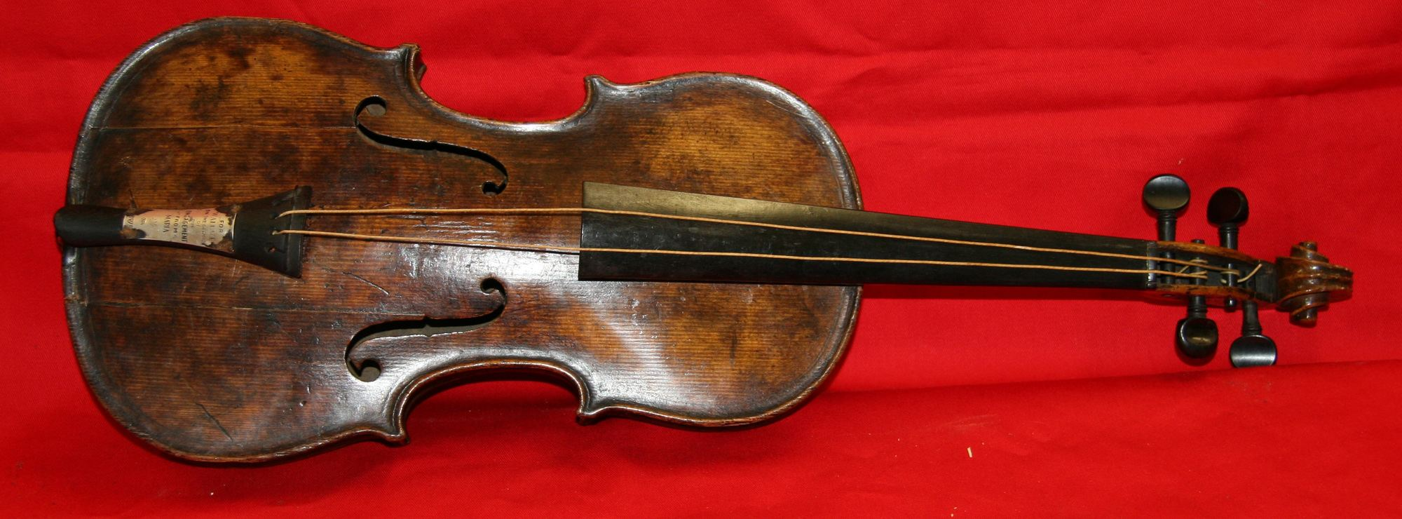 titanic violin found