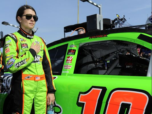 Danica 'shut up and race'