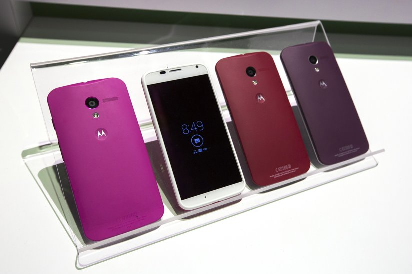 Moto X: Motorola introduces its first smartphone made after the Google acquisition