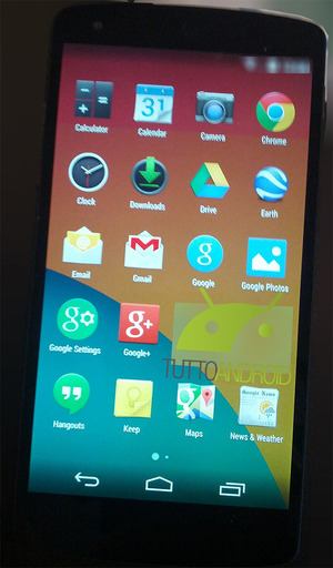 Latest Android Kit Kat leak shows off new interface