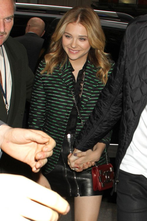 "Chloe Moretz Stops by ""Late Night with Jimmy Fallon"""