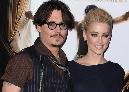 Johnny Depp & Amber Heard to Team-up for 'London Fields'