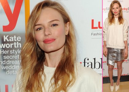 Kate Bosworth on Lucky Magazine's East Coast FABB