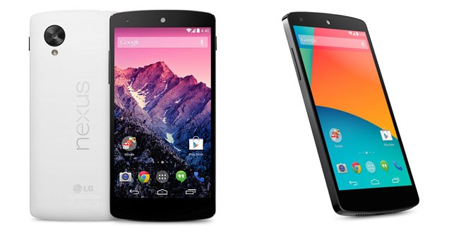 Google Releases Nexus 5 with Android KitKat
