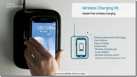 Magnetic resonance wireless charging by Samsung