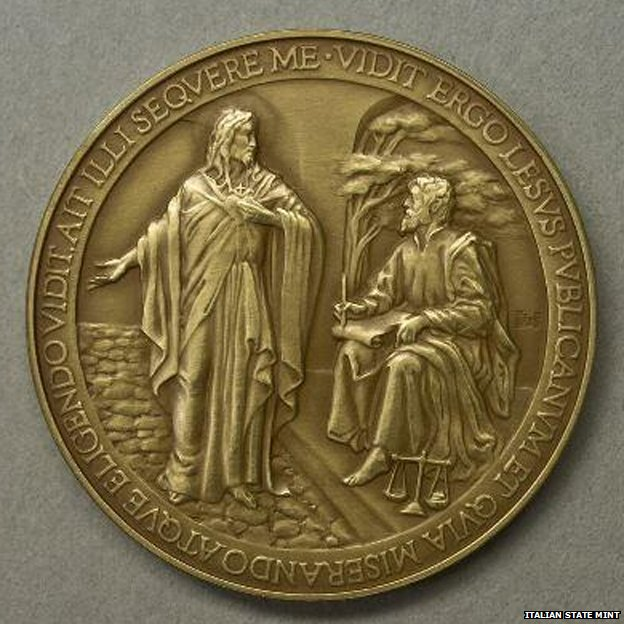 "Vatican withdraws medals that misspelled ""Jesus"""