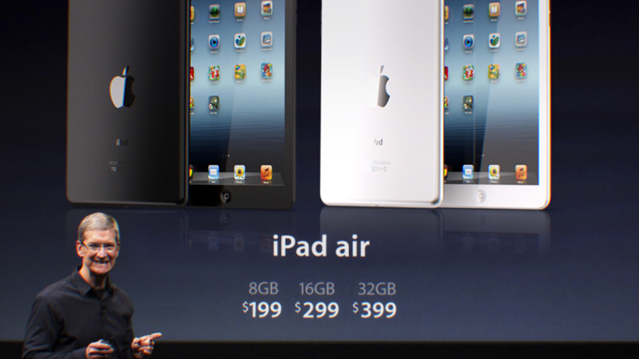 Apple unveils lighter iPad Air