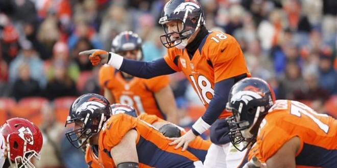 Denver Broncos 17-10 @ Halftime