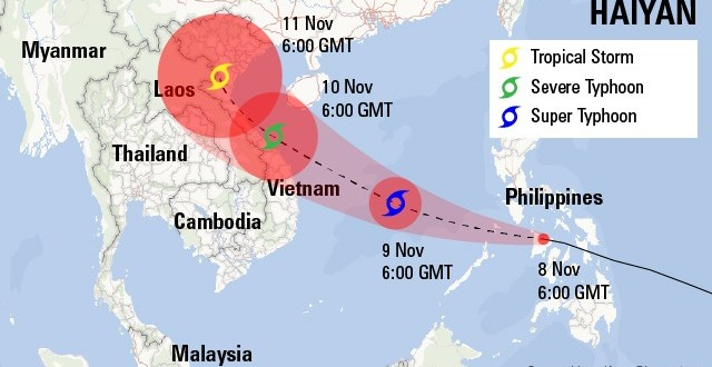 Haiyan Typhoon Claims Over 10,000 Lives in Philippine!