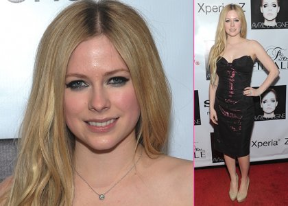 "Avril Lavigne Celebrates Release of ""Complicated"""