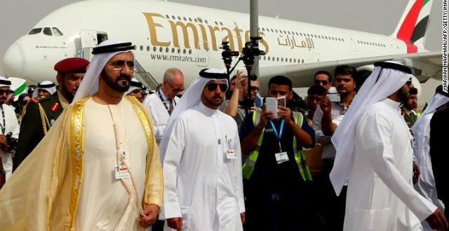 Dubai Airshow brings in $192 billion worth of orders on first day