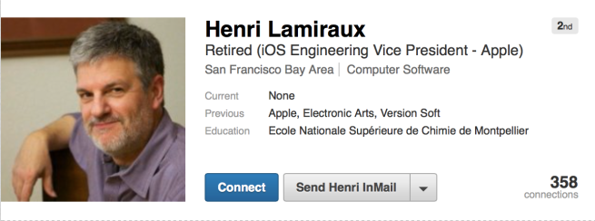 Apple's Head of iOS Resigns after 23 years on Job!