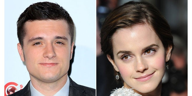 Josh Hutcherson Reveals He has a Crush on Emma Watson