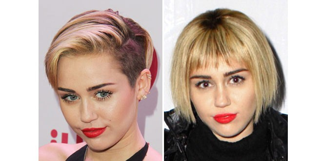 Miley Cyrus Shows off Short Bob Hairstyle