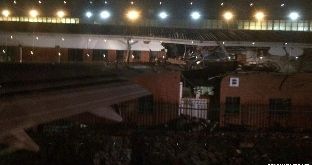British Airways Airplane Wings Clips South Africa Airport Building