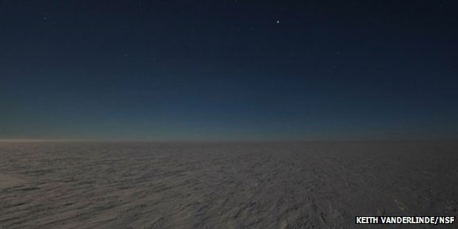 Coldest spot on Earth identified