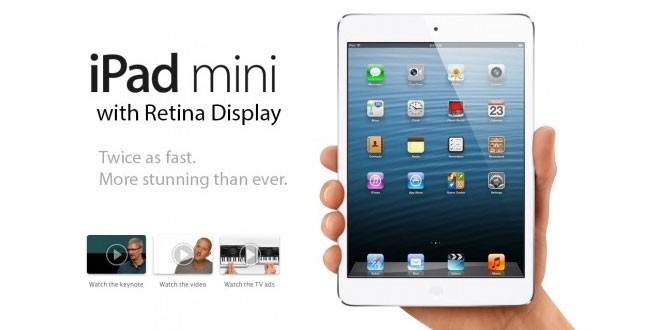 iPad Mini Retina Display ships within 24 Hours