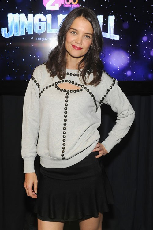 Z100 Jingle Bell Katie Holmes - Photos