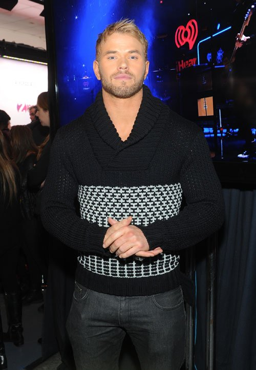 Z100 Jingle Bell Kellan Lutz - Photos