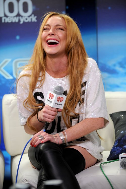 Z100 Jingle Bell Lindsay Lohan - Photos