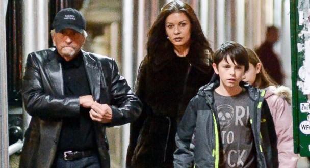 Catherine Zeta-Jones & Michael Douglas Spotted Together!