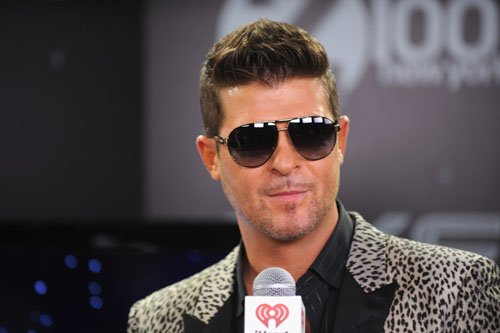 Z100 Jingle Bell Robin Thicke - Photos