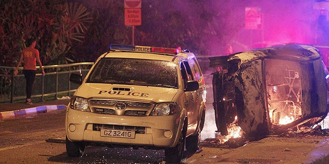 Singapore to charge 24 Indian workers for rioting