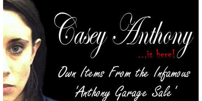 Casey Anthony's Clothes, Handbags Goes for Sale on Website!