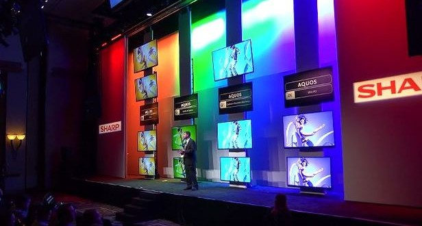 CES 2014 – Sharp Unveiled 85-inch TV!
