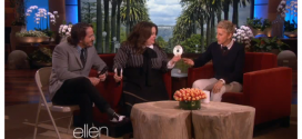 Melissa McCarthy & her Husband Crashes Ellen Show! (Video)