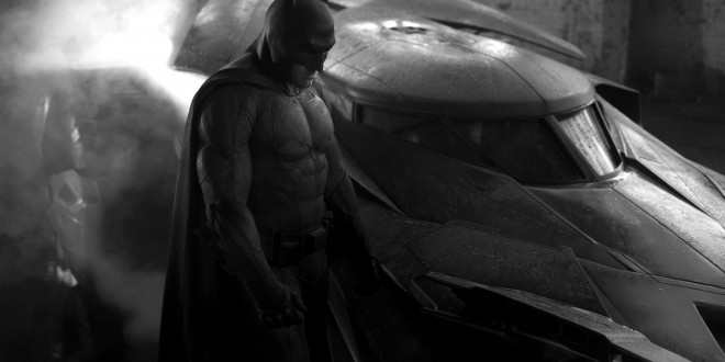 "Batman Vs Superman – Ben Affleck's ""Batman"" Batsuit revealed"