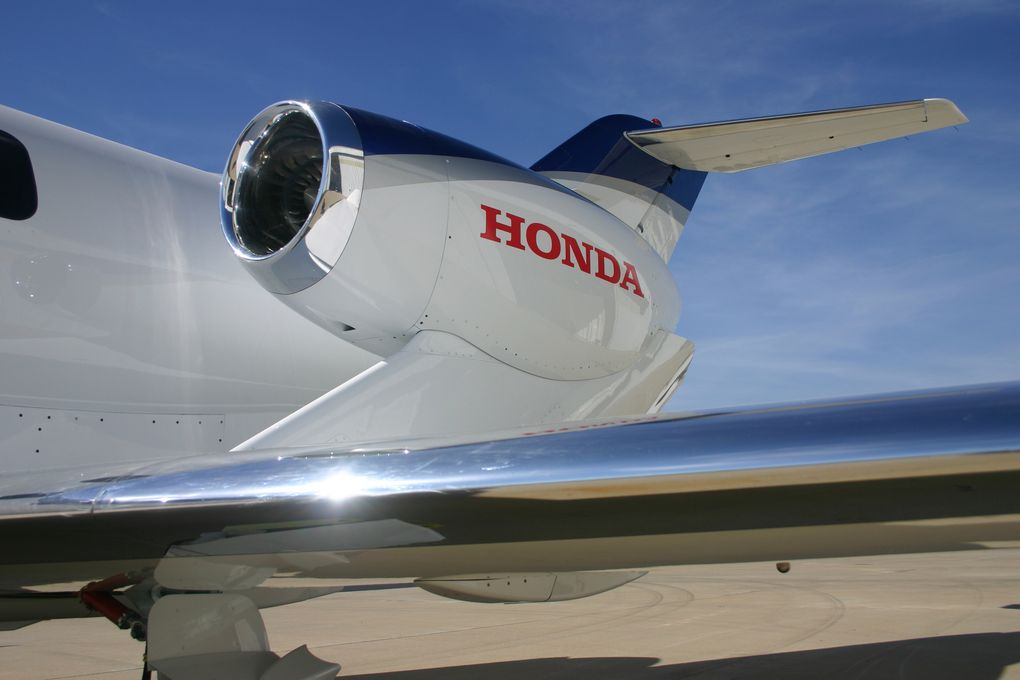HondaJet's Engine