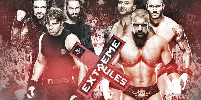 Extreme Rules 2014 Results