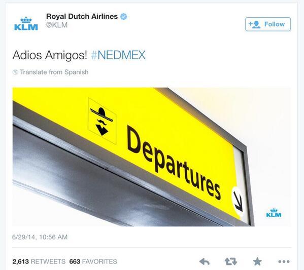 KLM-world-cup-tweet