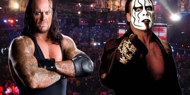Undertaker Vs The Sting: The Dream match in making!
