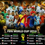 FIFA FootBall World Cup 2014 Group Stages Team