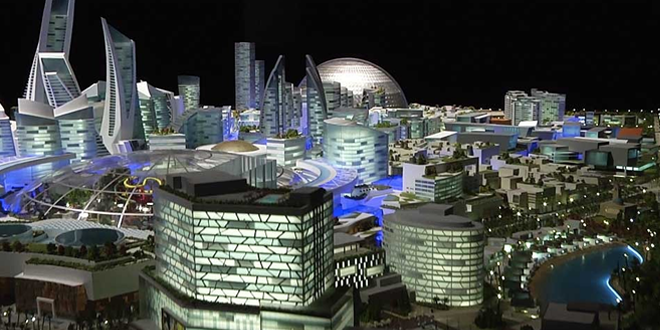 World's first climate-controlled city, Mall of the World is to be built in Dubai.