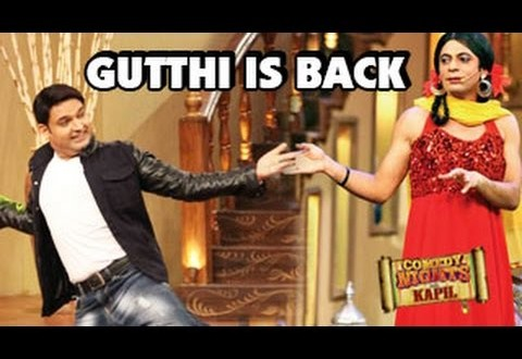 Gutthi returns in Comedy Nights with Kapil!